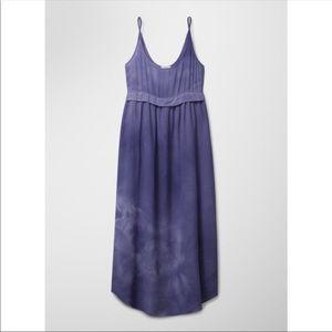 Aritzia Wilfred purple silk bisous dress - small